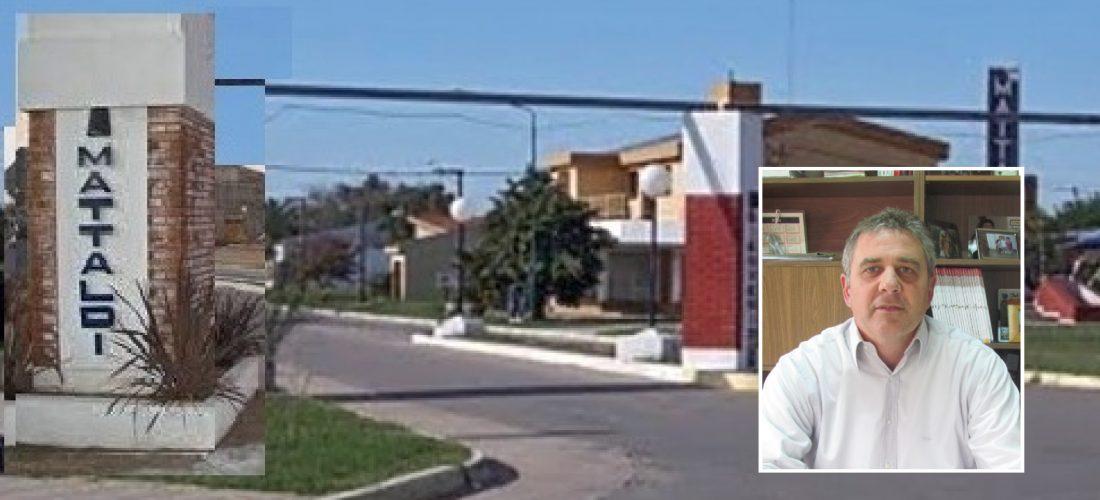 """Mattaldi: el intendente Renaudo se """"recupera bien, mejor de lo esperado"""""""