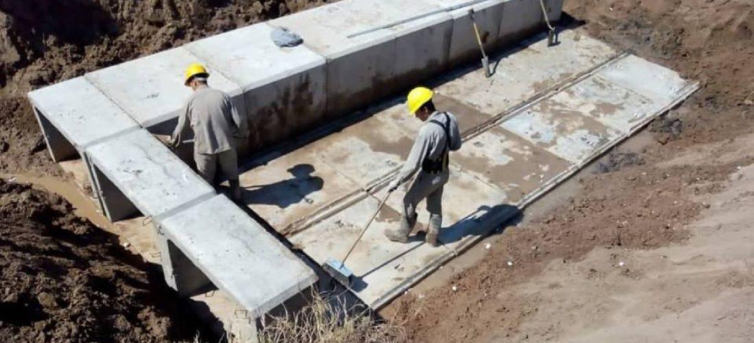 Más obras hídricas: Provincia ejecuta trabajos en la zona de Tres Colonias