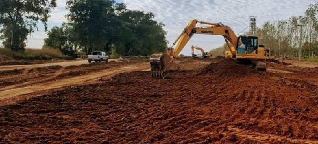 El tramo Buchardo – Charlone permanecerá cortado por obra de pavimentación