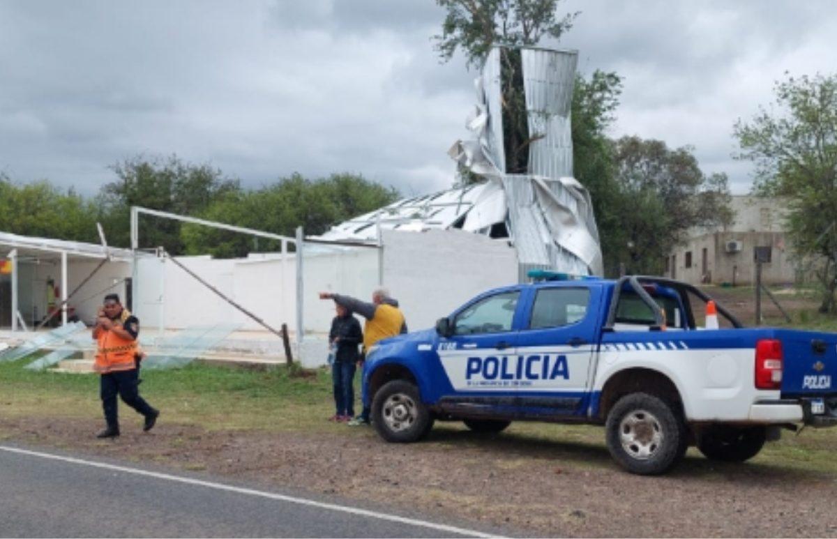 La Provincia asistirá a localidades afectadas por la tormenta de viento