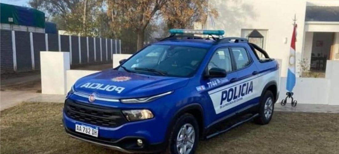 La Provincia entregó un móvil policial a la Subcomisaría de Rosales