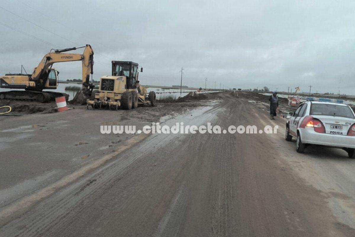 Ruta 27: habilitan una mano en zona de alteo cerca de Serrano