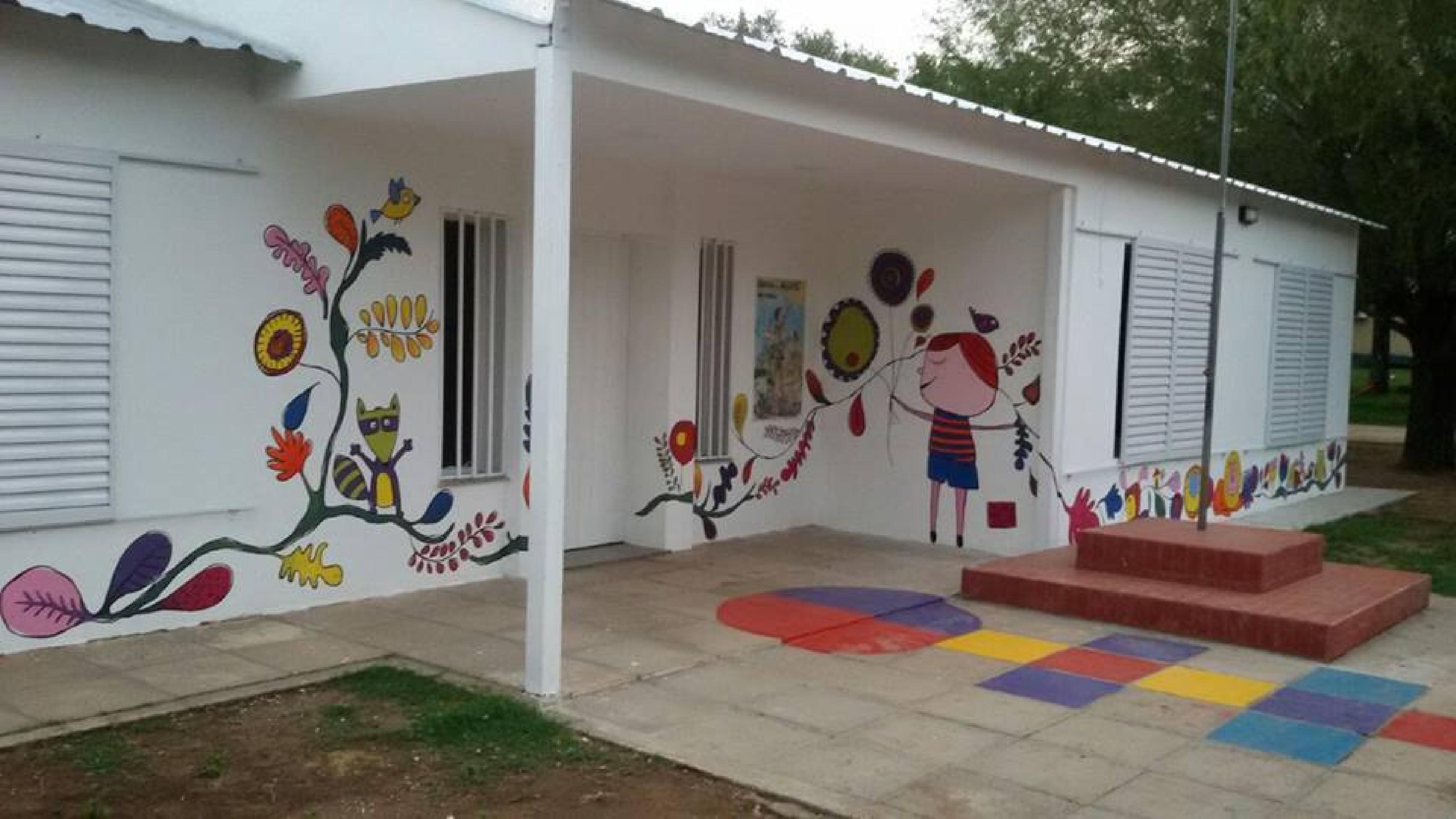 Villa rossi inauguran nueva sala en el jard n de infantes for Jardin de infantes