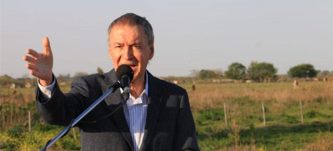 Schiaretti anunció más obras en el sur de Córdoba y reiteró el reclamo por la carne