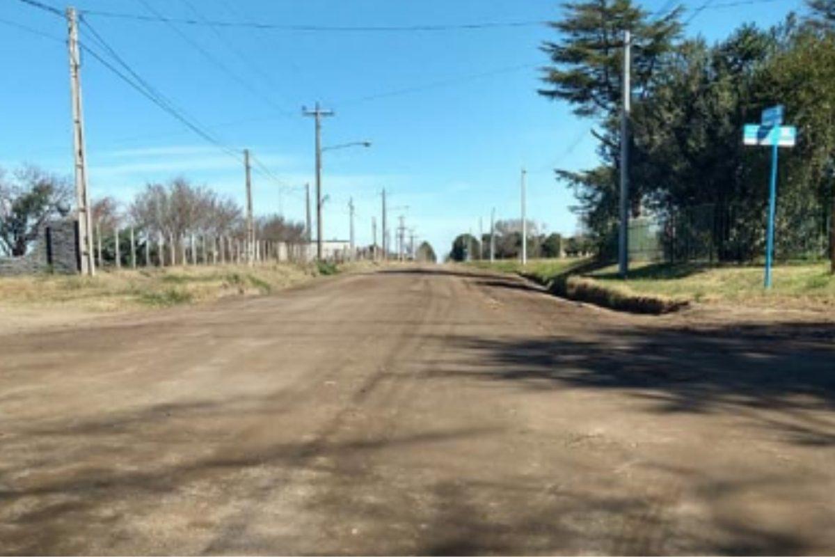 Pavimentación del acceso sudoeste a Serrano: se realizó la apertura de sobres