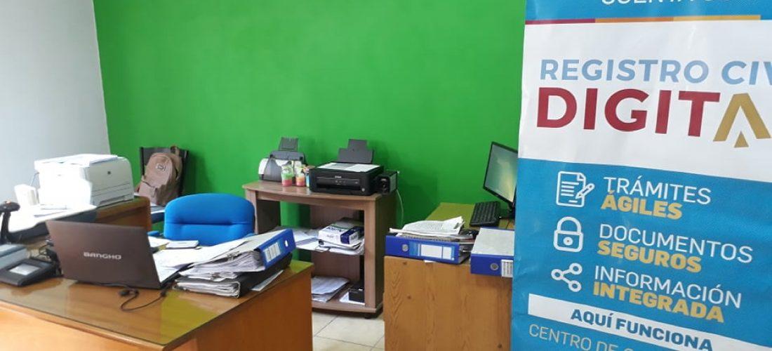 En Serrano ya funciona el Registro Civil Digital: nuevo equipamiento y capacitación
