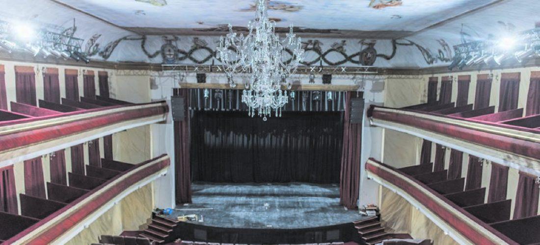 El Teatro Cervantes reabre su telón en Huinca Renancó