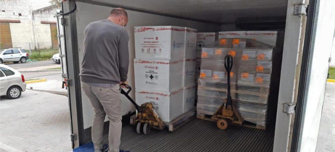 La Provincia recibió este lunes 54.000 dosis de la vacuna Sputnik V