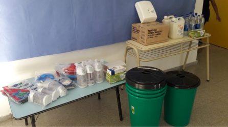 V. Valeria: insumos de salud para escuelas y aumento de salarios al personal municipal