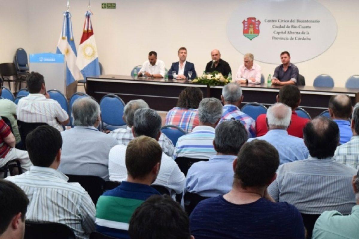 Vialidad se reunió con Consorcios Camineros del sur provincial
